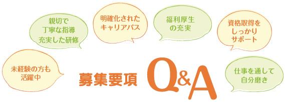 募集要項Q&A